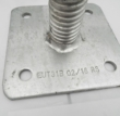 Base Jack - 6 tonne capacity Zinc plated