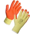 Latex Palm Coated Handler Gloves - Orange 12 Pack in XXL