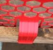 PLASTIC BRICKGUARD (HEXGUARD) - 100 pack - Red