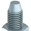 TIMCO M10 Through Bolt BZP 10 x 75mm (Loose)