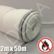 White Flame Retardant Debris Netting - 2m x 50m