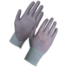Electron Polyurethane Coated Nylon Glove - Grey 12 Pack in Large