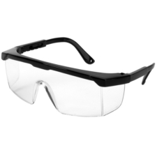 Standard Safety Glasses, Clear Lens - Pack of 10