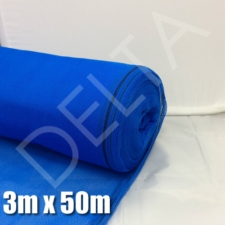 Debris Netting - 3m x 50m - Blue.