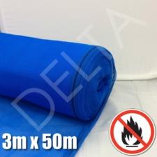 Fire Retardant Debris Netting - 3m x 50m Blue