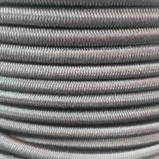 Black Shock/Bungee Cord, 6mm Diameter 50m Coil
