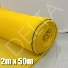 Debris Netting - 2m x 50m Yellow