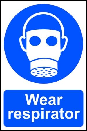 Wear respirator - PVC (200 x 300mm)