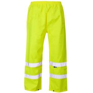 Hi Vis Over Trousers Yellow