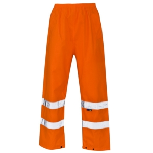 Hi Vis Over Trousers Orange
