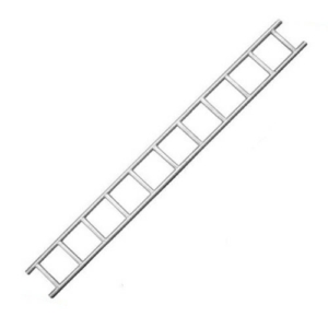 Galvanised Steel Ladder Beam - 8ft (2.4m)