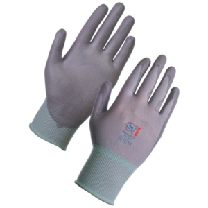 Electron Polyurethane Coated Nylon Glove - Grey 12 Pack in XXL