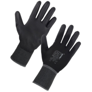 Electron Polyurethane Coated Nylon Glove - Large (Packs of 12 pairs)