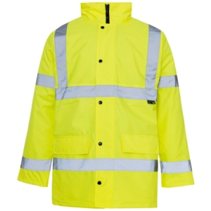 Hi Vis Standard Parka Jacket Yellow