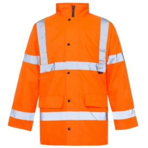 Hi Vis Standard Parka Jacket Orange