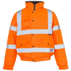 Hi Vis Standard Storm Bomber Jacket Orange