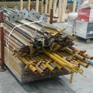 Used Kwikstage Scaffolding - 24ft (7.2m) Package - Galvanised Battens