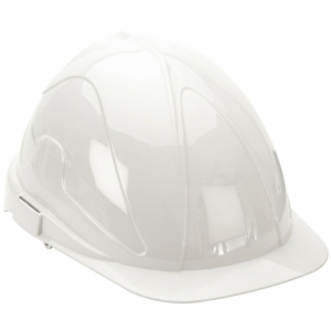 Deluxe Lightweight Safety Helmet / Hard Hat - White