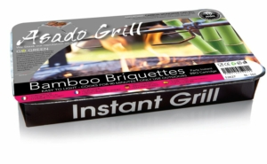 Asado Grill Party Instant Barbecue Bamboo Briquettes x6 Pack