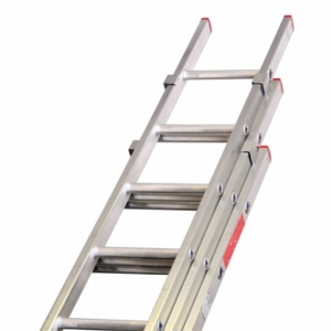 Aluminium 3 Section Pushup Extension Ladder, Lyte Ladder