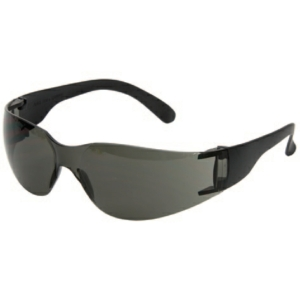 Standard Safety Glasses, Smoke Lens - Pack of 12