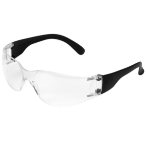 Standard Safety Glasses, Clear Lens - Pack of 12