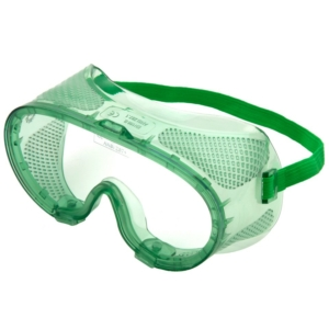 Standard Safety Goggles, Clear Lens - Pack of 10