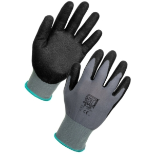 Graphite Scaffolding  Gloves, Nitrile Coated - Pack of 12 in Extra Large
