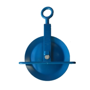 Scaffolding Gin Wheel, Blue, Cerfiticated