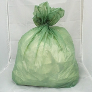 100 Medium Duty Green Refuse Sacks - Bin Bags