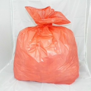 100 Medium Duty Red Refuse Sacks - Bin Bags