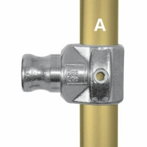 Aluminium Internal Swivel Tee (48.3mm) - Kee Lite (L114-8)