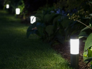 Mini London Solar LED Post Lights (Set Of 4)