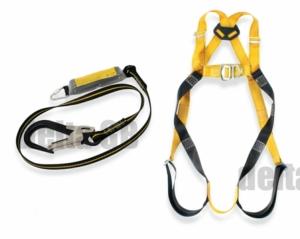 RidgeGear Scaffolders Safety Harness Kit RGHK2 Leather