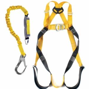 RidgeGear Scaffolders Safety Harness Kit RGHK2.RGL9 Leather