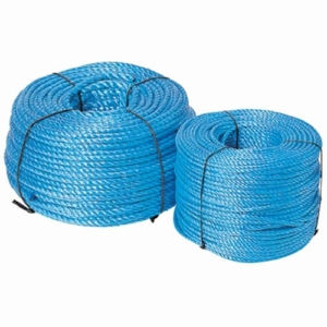Blue Polypropylene Rope, 6mm Diameter 30m Coil