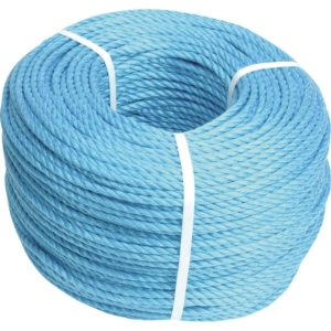 Blue Polypropylene Rope, 8mm Diameter 220m Coil