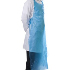 1000x Blue Disposable Aprons 20 Micron
