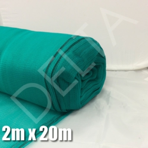 Debris Netting - 2M x 20M - Green