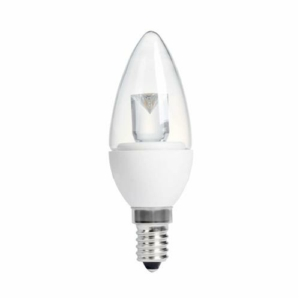 CANDLE CLEAR 4W (20W) SES (E14) 200 Lumens Warm White LED Light Bulb