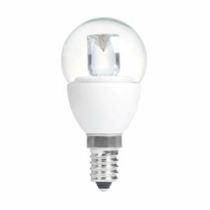 GOLF BALL CLEAR 4W (20W) SES (E14) 200 Lumens Warm White LED Light Bulb