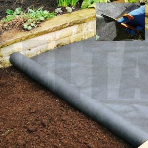 Non-Woven Heavy Duty Landscape Fabric - 1.8m X 50m 100GSM
