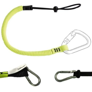 Elasticated Tool Lanyard With Clips
