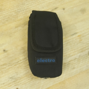 Mobile Phone Pouch - Black Nylon