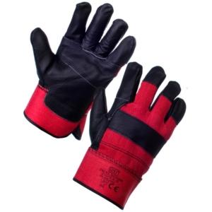 Excel Rigger Glove - Red & Black - 12 Pack, Large