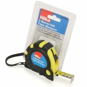 Hilka 3m (10ft) Heavy Duty Retractable Tape Measure