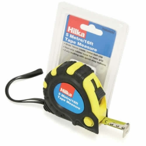 Hilka 5m (16ft) Heavy Duty Retractable Tape Measure