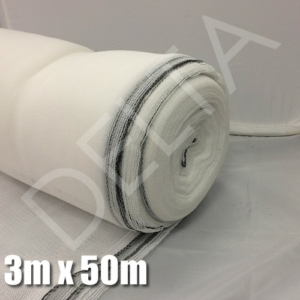 Debris Netting - 3m x 50m - White Netting