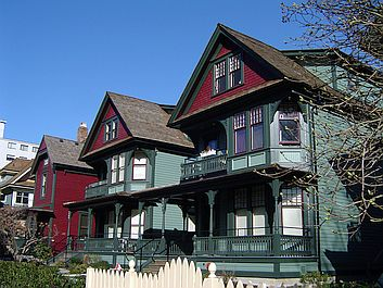 An Old House With Porches And Verandas