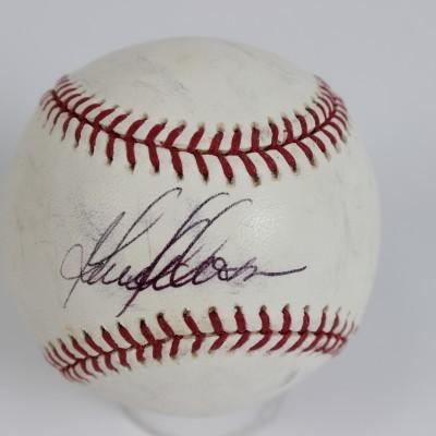 Anaheim Angels - Garret Anderson Signed Baseball - JSA